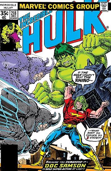 Incredible Hulk (1962-1999) #218