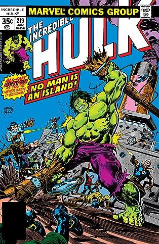 Incredible Hulk (1962-1999) #219