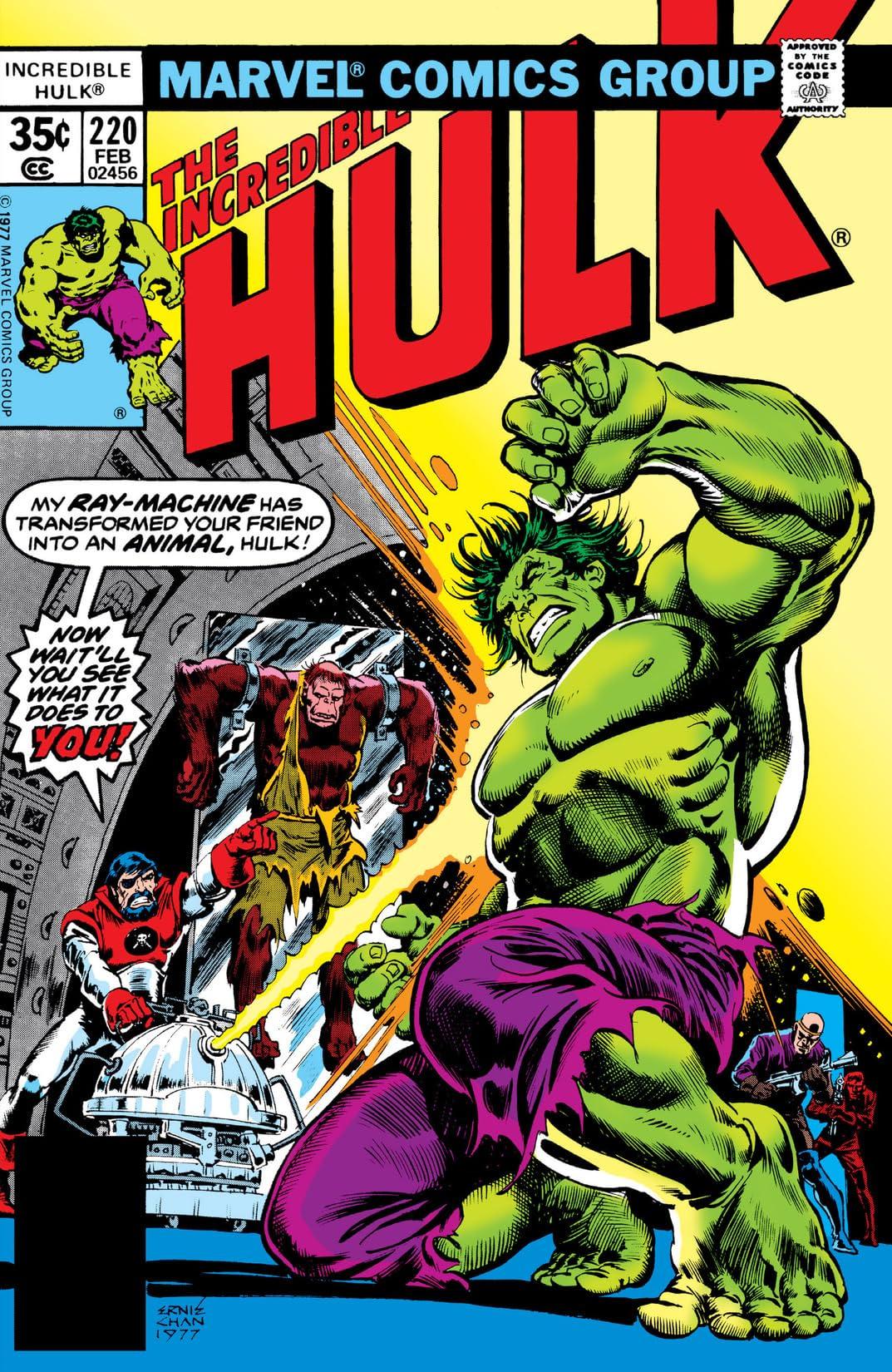 Incredible Hulk (1962-1999) #220