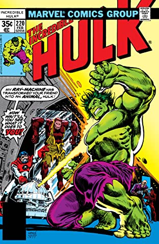 Incredible Hulk (1962-1999) #220