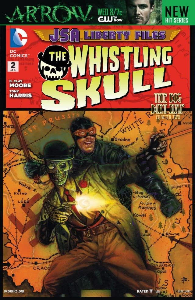 JSA Liberty Files: The Whistling Skull (2012) #2 (of 6)