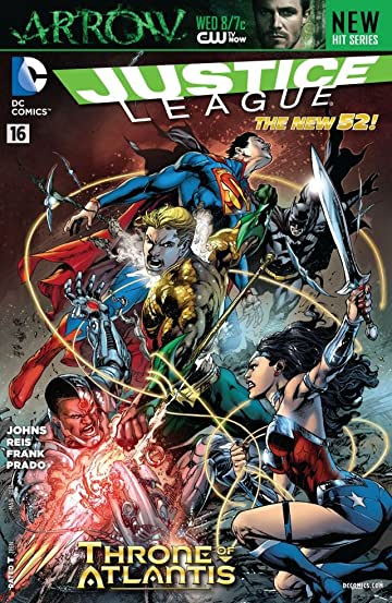 Justice League (2011-) #16