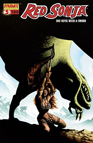 Red Sonja: She-Devil With a Sword No.5