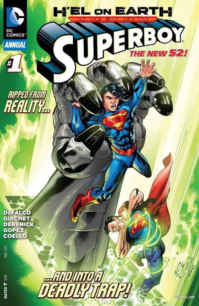 Superboy (2011-2014) #1: Annual