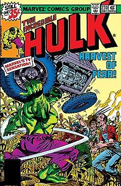 Incredible Hulk (1962-1999) #230
