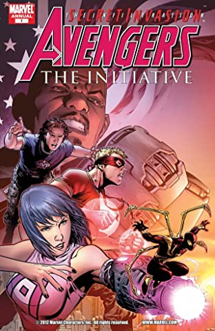 Avengers: The Initiative Annual No.1