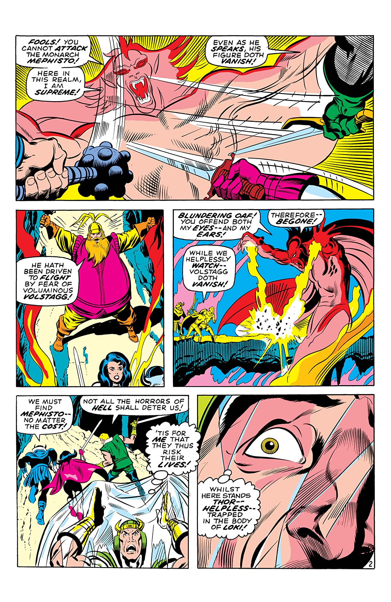 Thor (1966-1996) #181