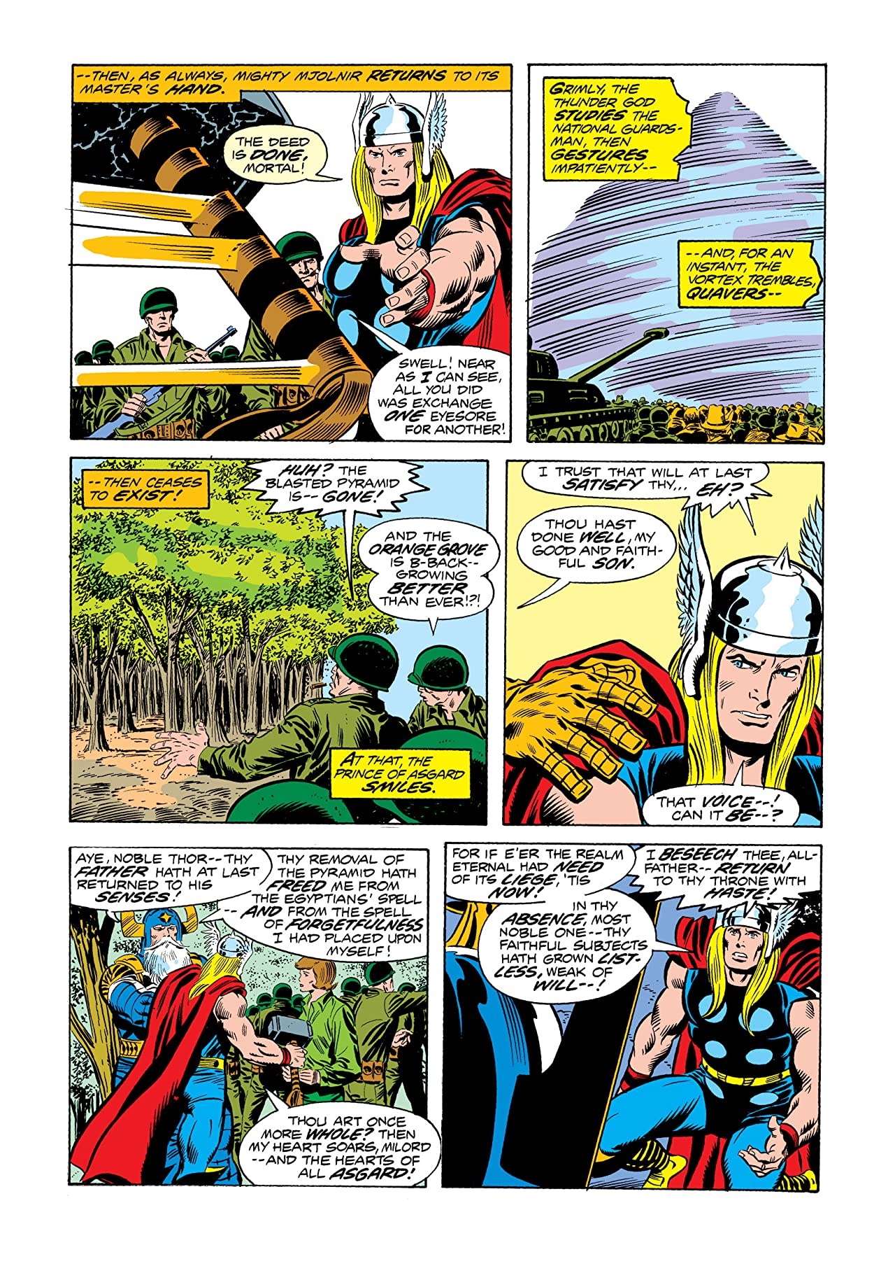 Thor (1966-1996) #242