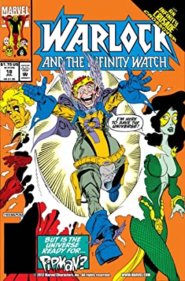 Warlock and the Infinity Watch (1992-1995) No.18