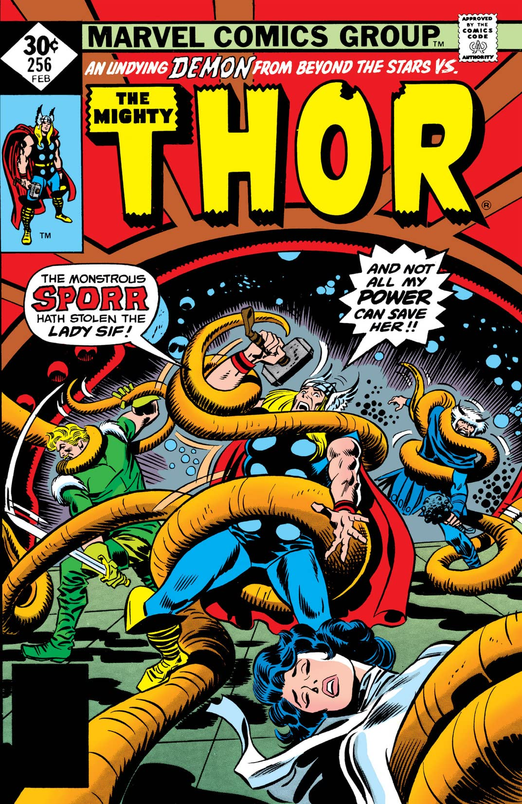 Thor (1966-1996) #256
