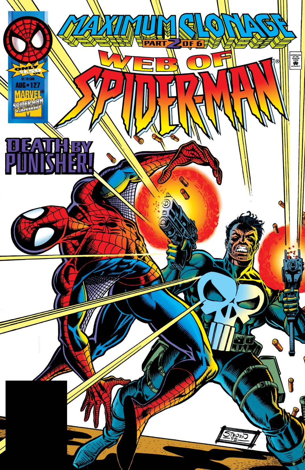Web of Spider-Man (1985-1995) #127