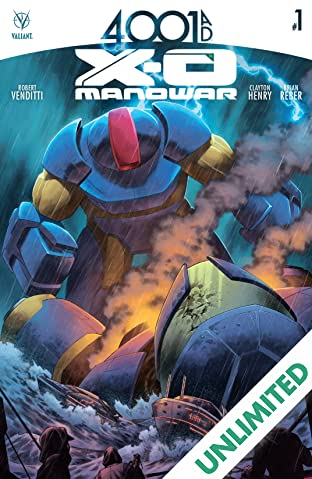 4001 A.D.: X-O Manowar #1: Digital Exclusives Edition