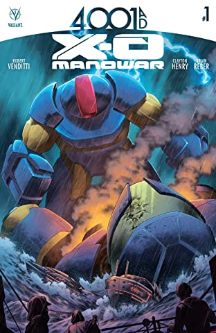 4001 A.D.: X-O Manowar No.1: Digital Exclusives Edition