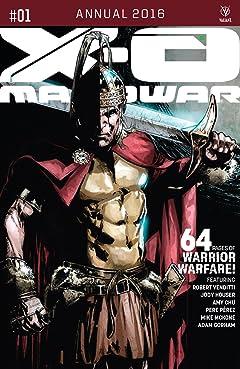 X-O Manowar 2016 Annual