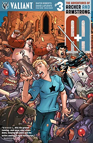 A&A: The Adventures of Archer & Armstrong No.3