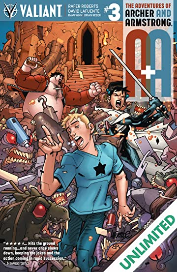 A&A: The Adventures of Archer & Armstrong #3