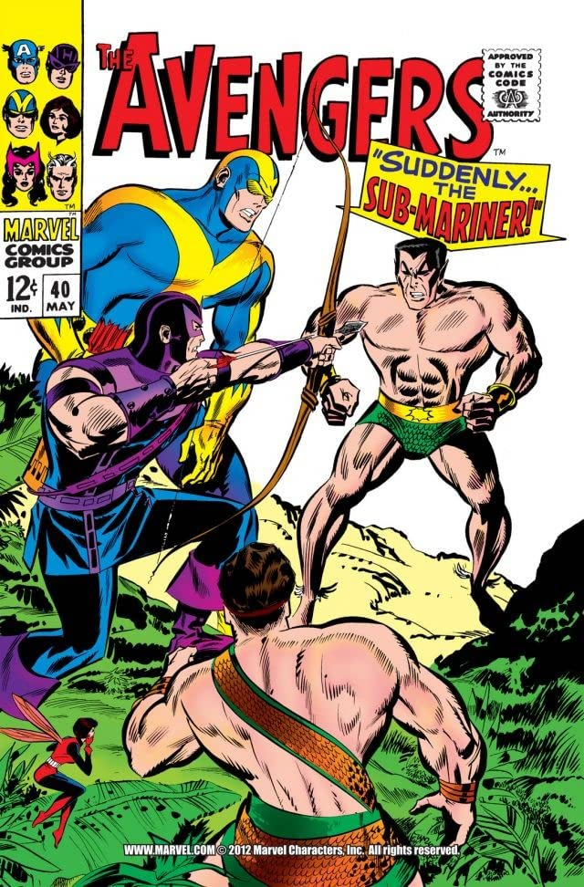 Avengers (1963-1996) #40