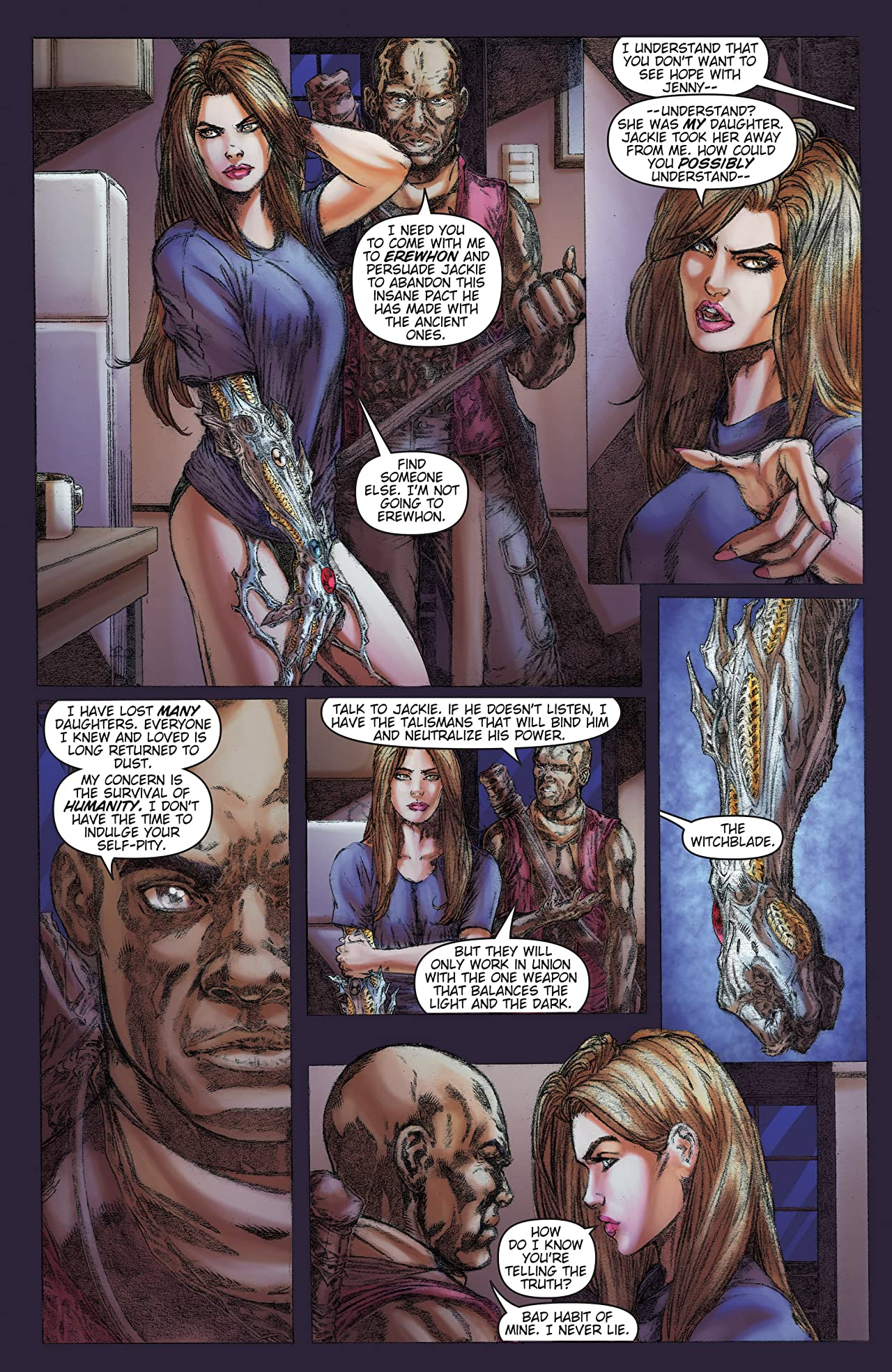 Witchblade: Borne Again Vol. 3