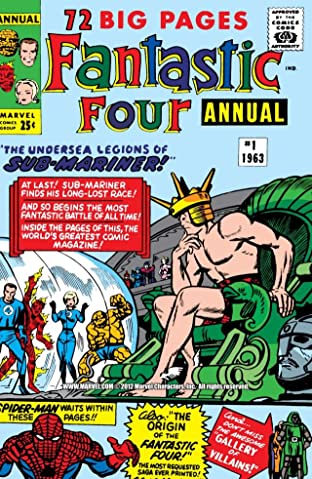 Fantastic Four (1961-1998) Annual #1