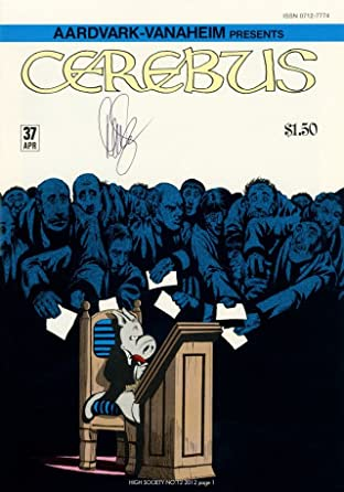 Cerebus Vol. 2 #12: High Society