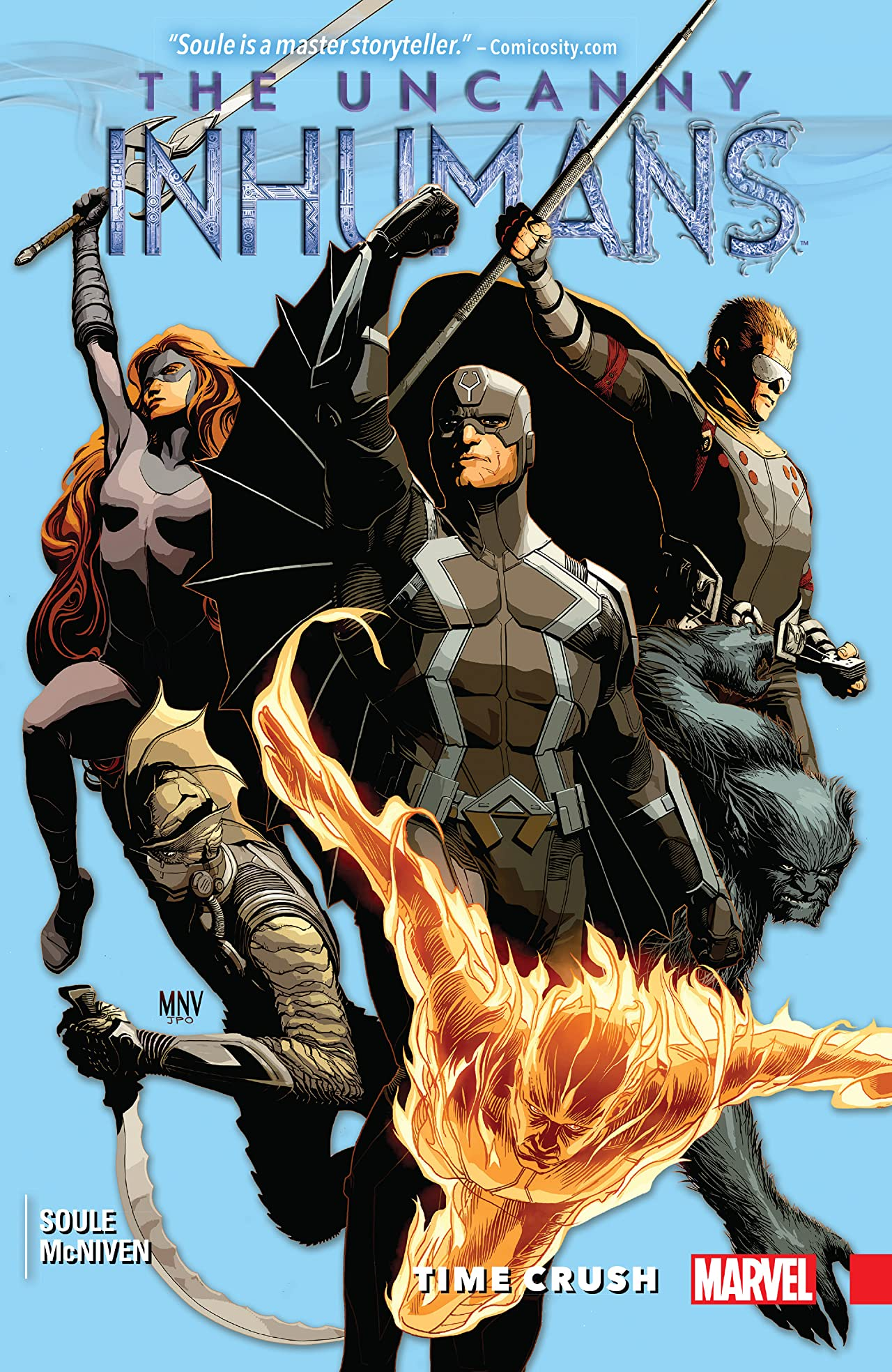 Uncanny Inhumans Vol. 1: Time Crush