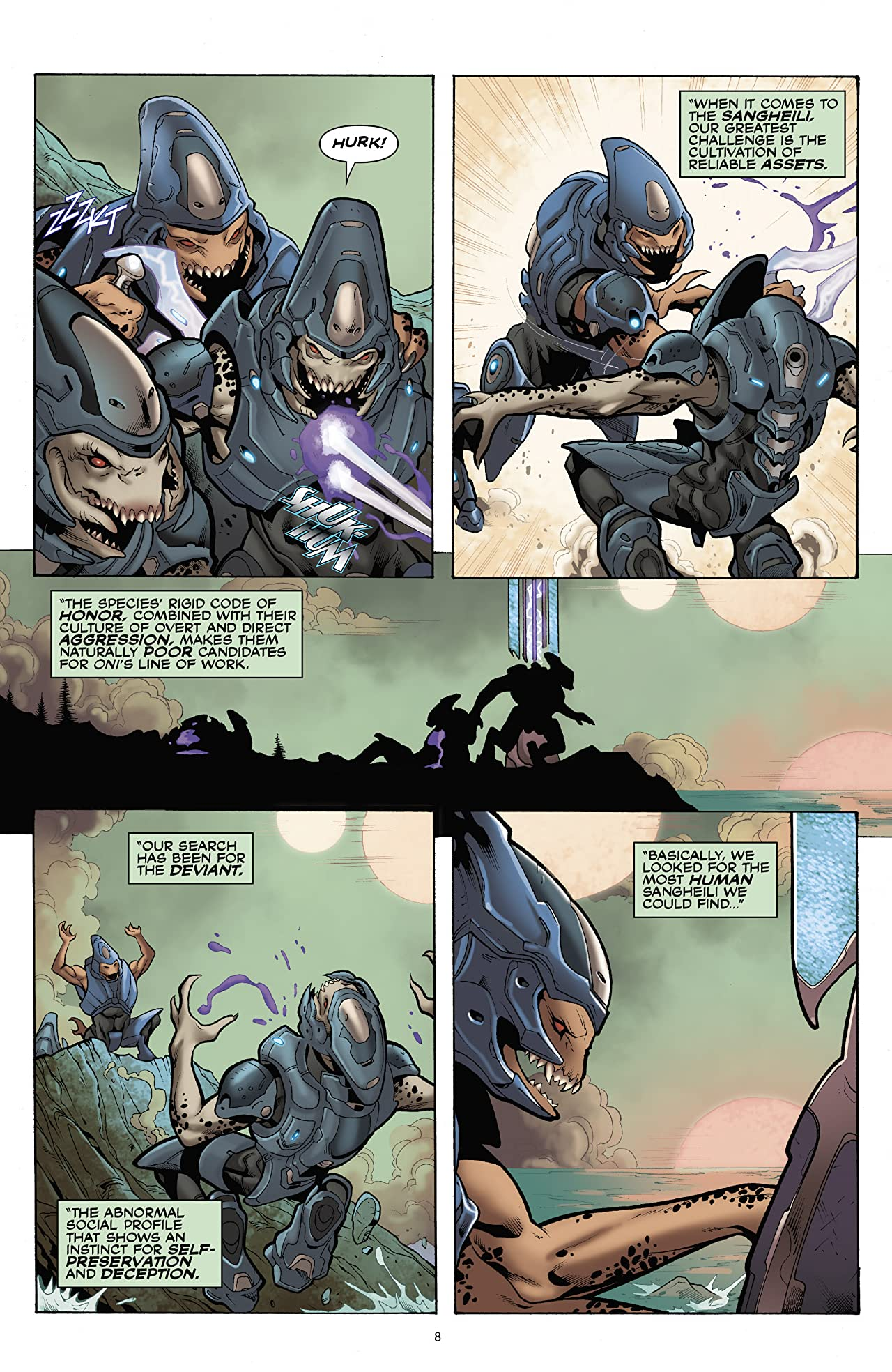 Halo: Escalation Tome 4