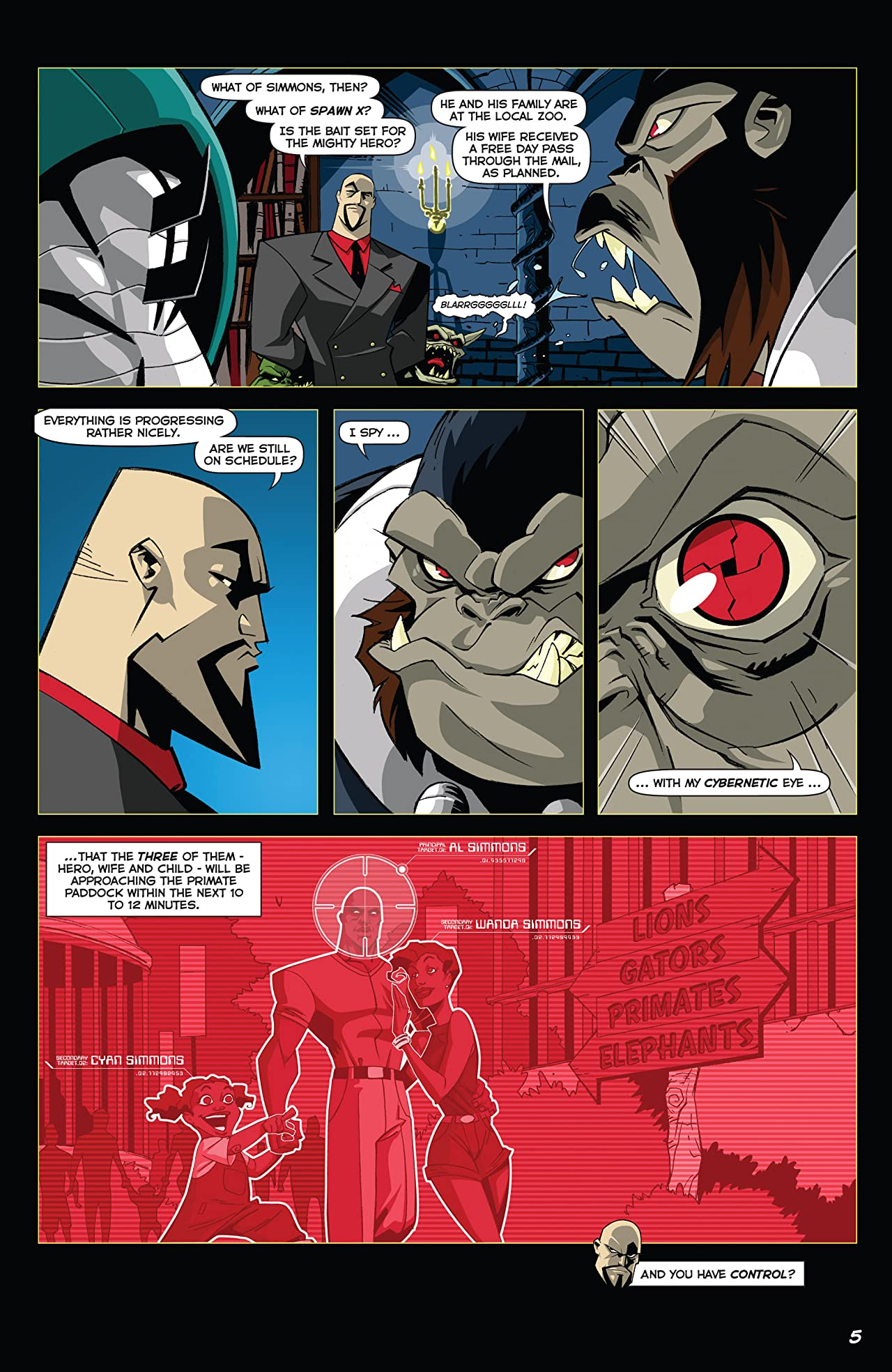 The Adventures of Spawn No.1