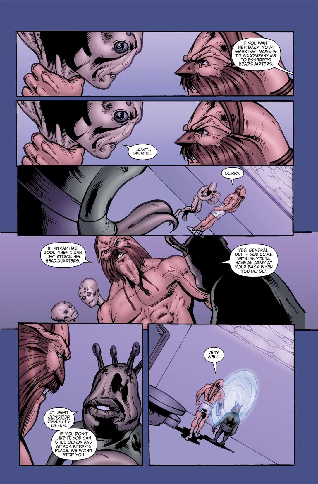 Farscape: Uncharted Tales Vol. 1: D'Argos Lament #2 (of 4)