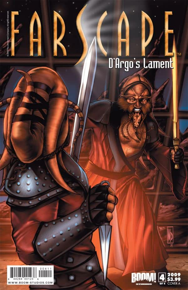 Farscape: Uncharted Tales Vol. 1: D'Argos Lament #4 (of 4)