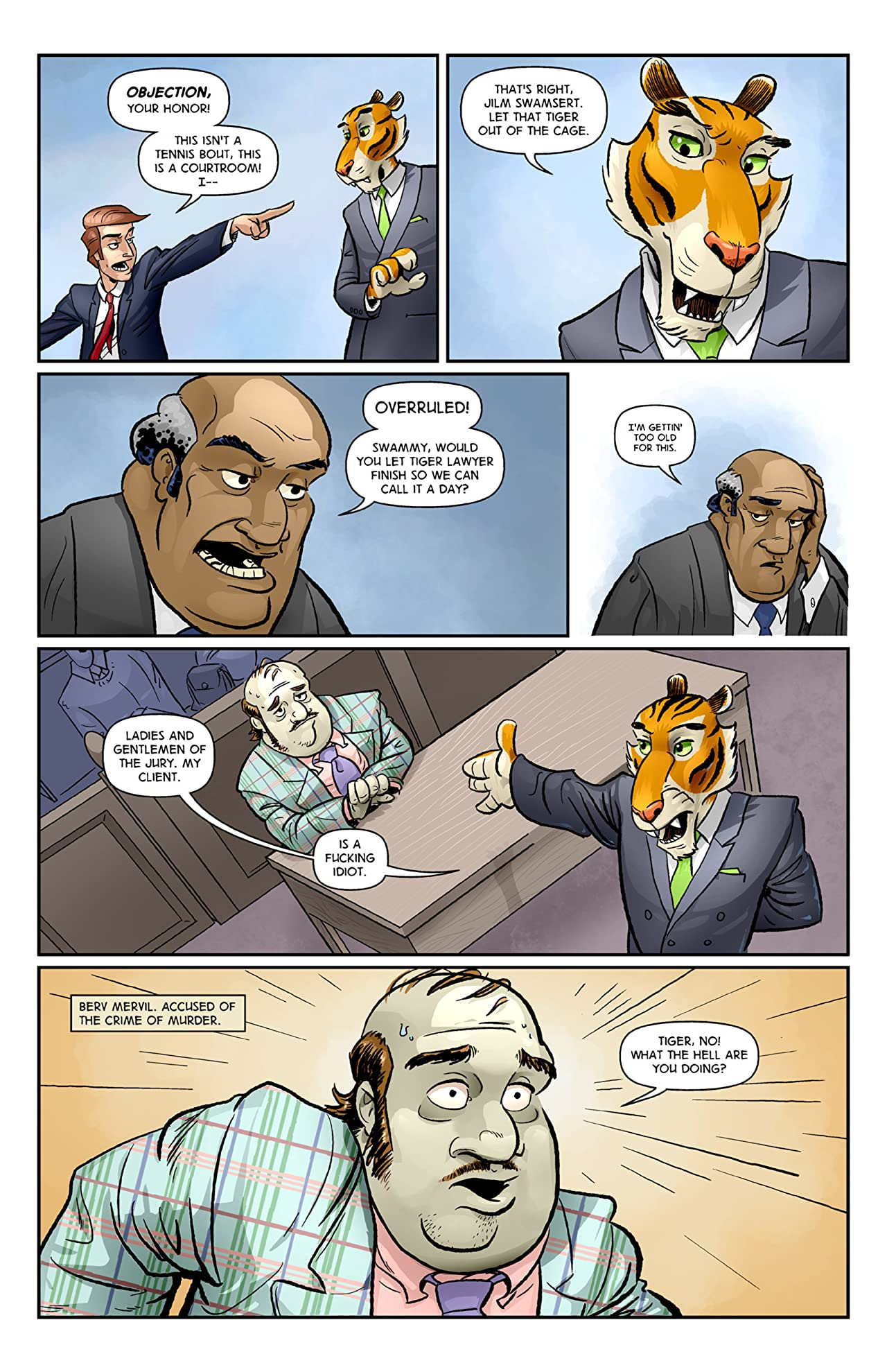 Tiger Lawyer #1