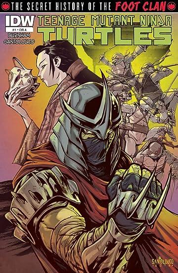 Teenage Mutant Ninja Turtles: Secret History of the Foot Clan #1 (of 4)