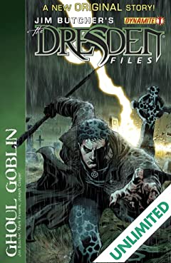 Jim Butcher's The Dresden Files: Ghoul Goblin #1
