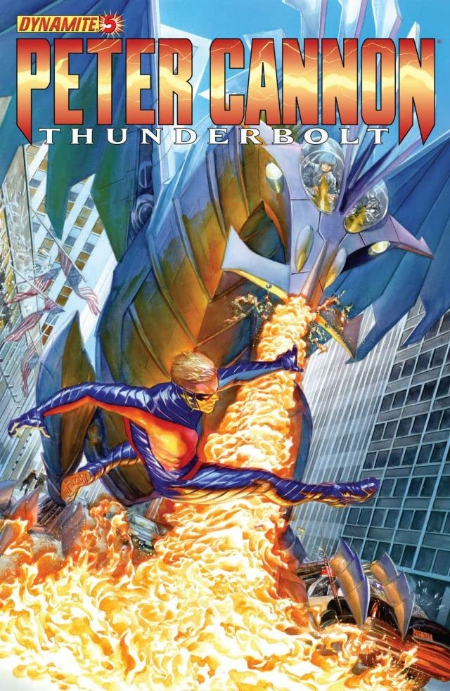 Peter Cannon: Thunderbolt (2012-2013) #5