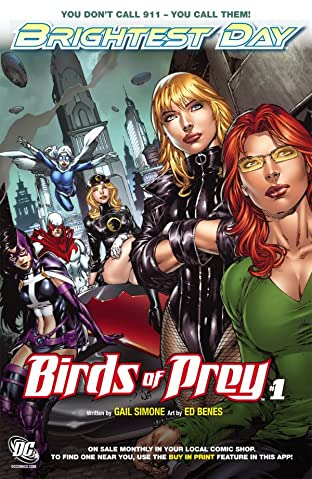 Birds of Prey (2010-2011) #1: Preview