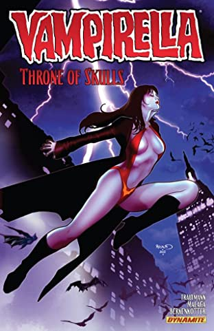 Vampirella (2011-2014) Tome 3: Throne of Skulls
