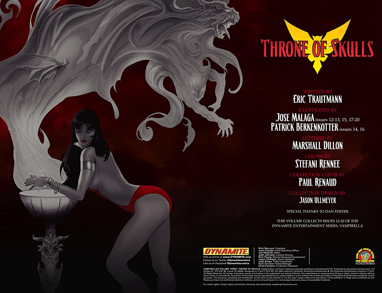 Vampirella Vol. 3: Throne of Skulls