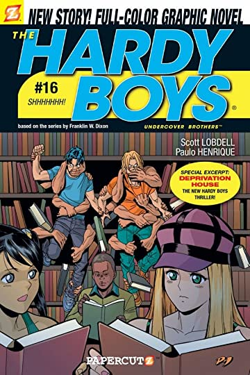 The Hardy Boys Vol. 16: Shhhhh Preview