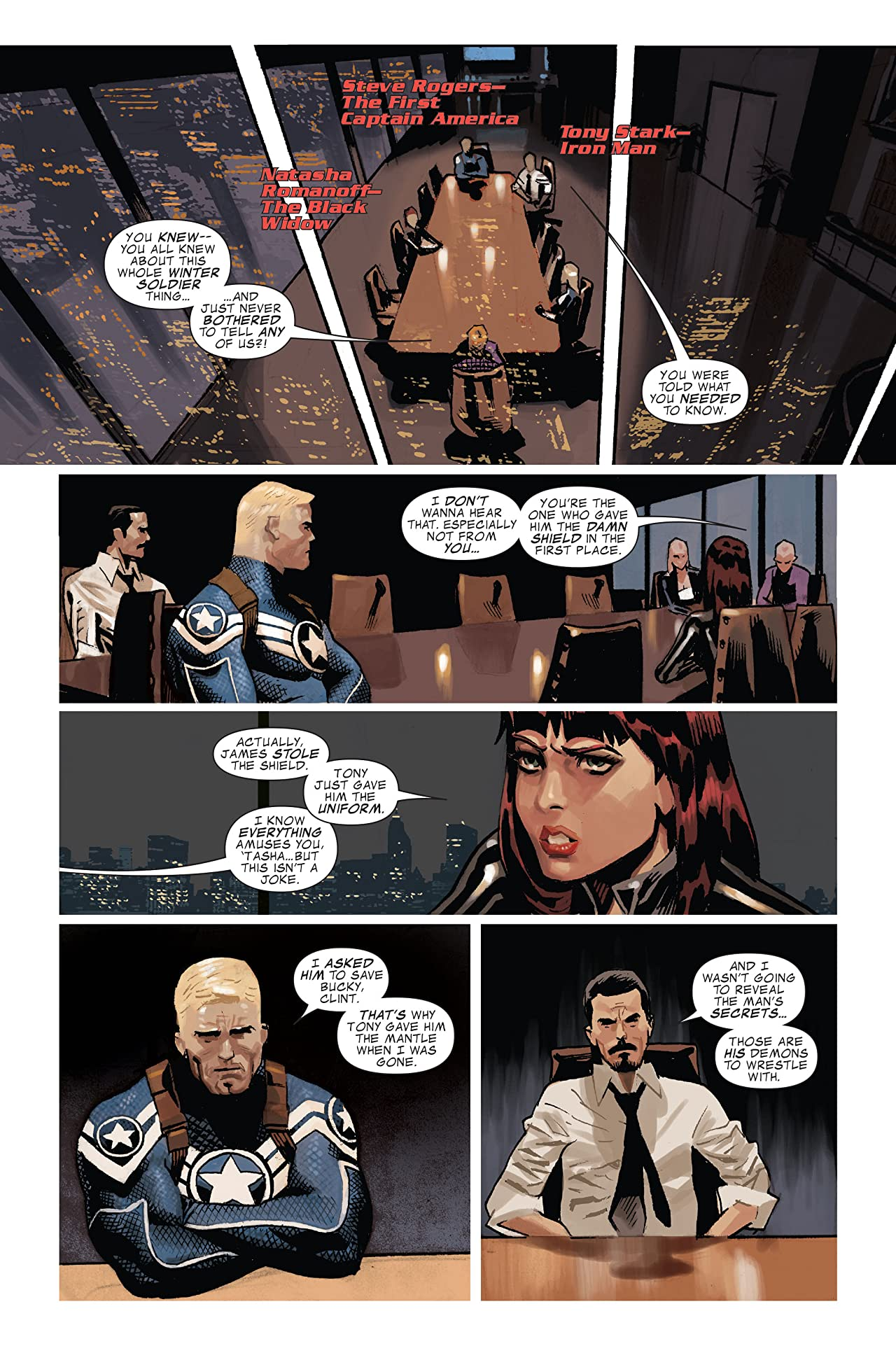 Captain America: Trial of Captain America