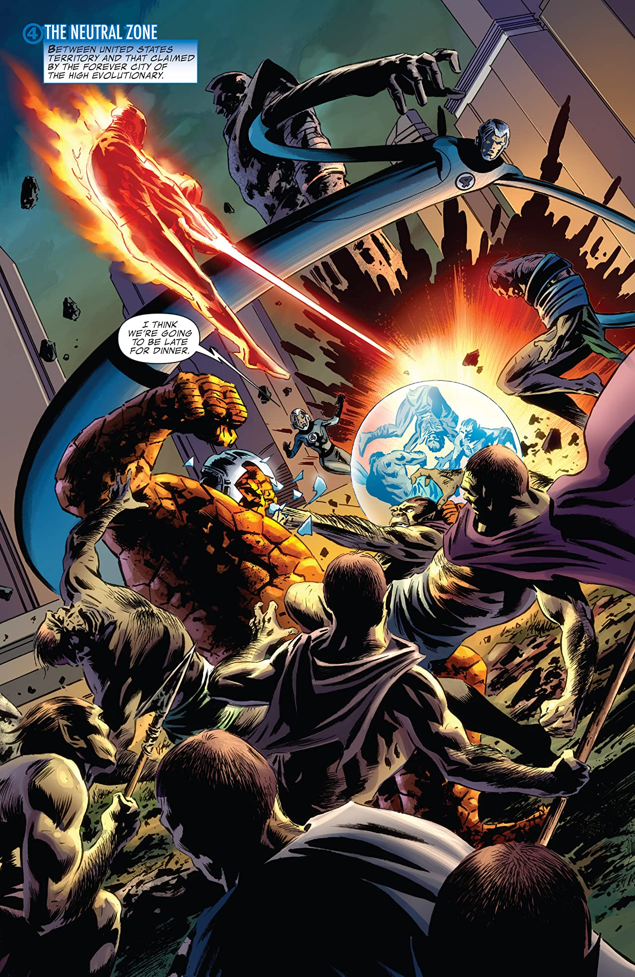 Fantastic Four By Jonathan Hickman Tome 4