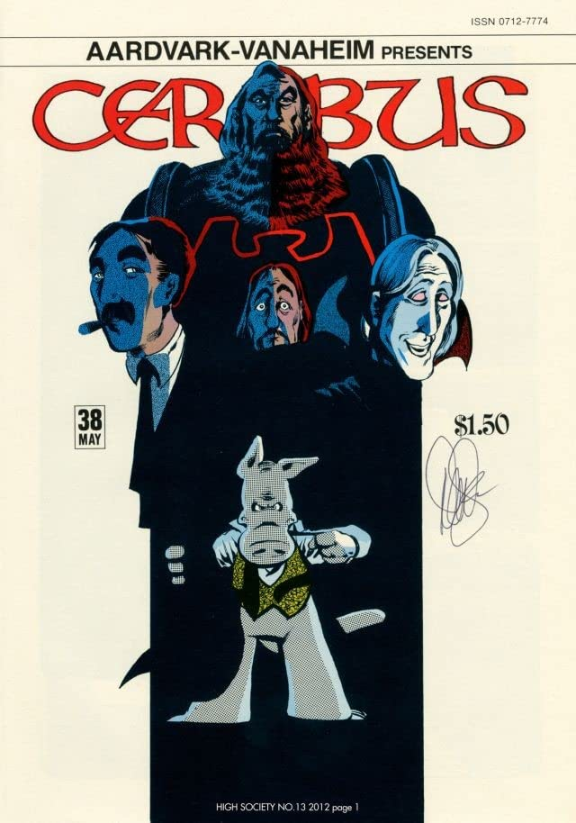 Cerebus Vol. 2 #13: High Society