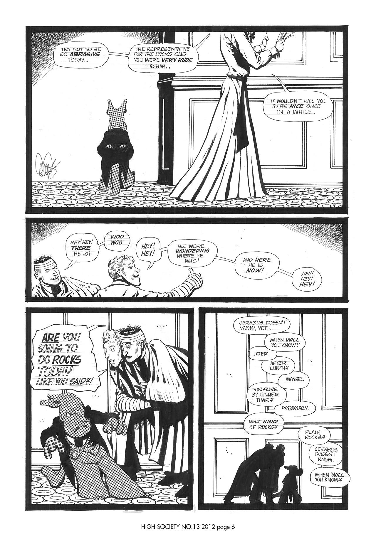 Cerebus Vol. 2 #13: High Society
