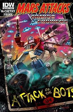Mars Attacks the Transformers #1