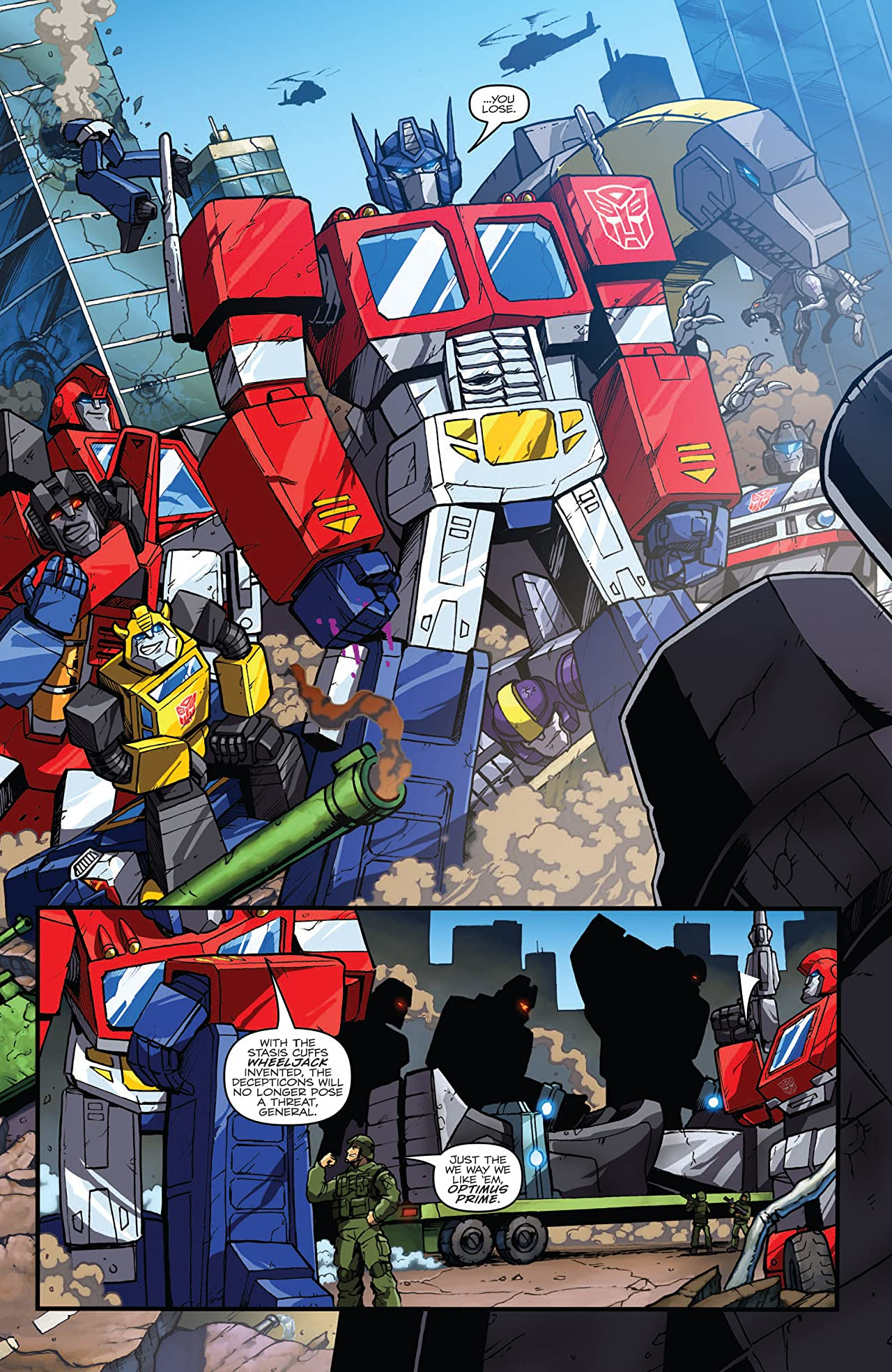 Mars Attacks the Transformers #1