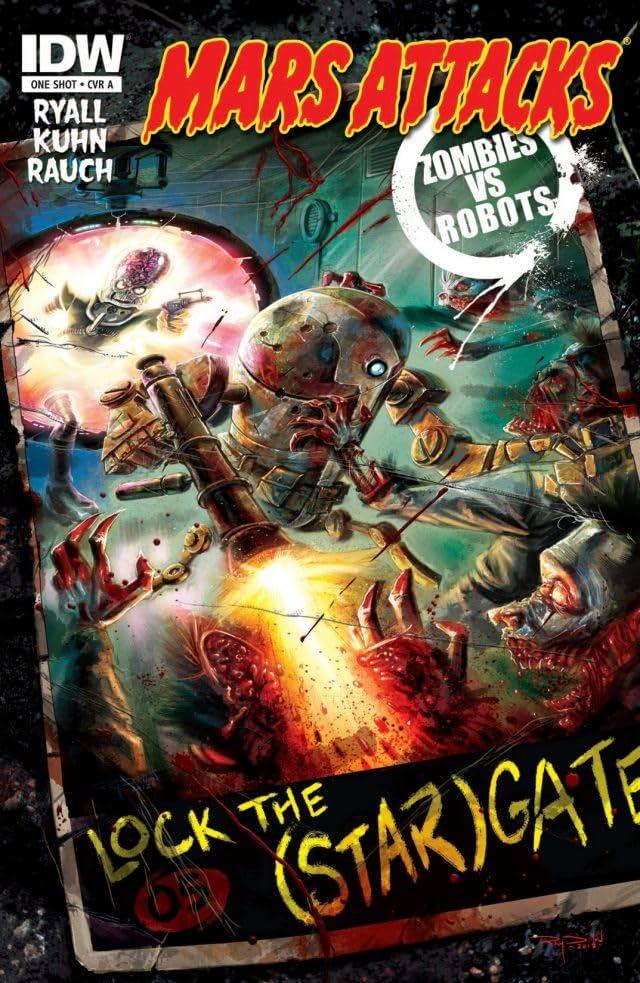 Mars Attacks Zombies vs. Robots #1