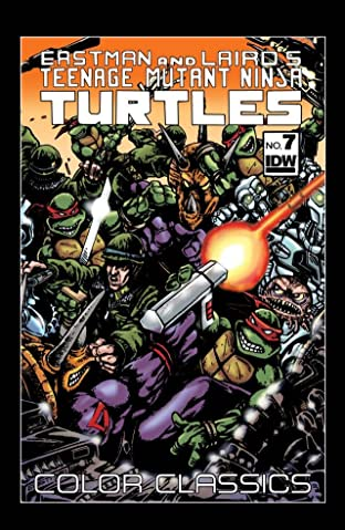 Teenage Mutant Ninja Turtles: Color Classics #7