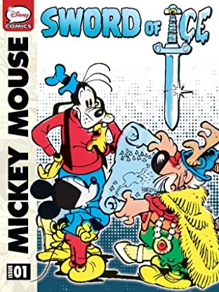 Mickey Mouse in the Sword of Ice #1