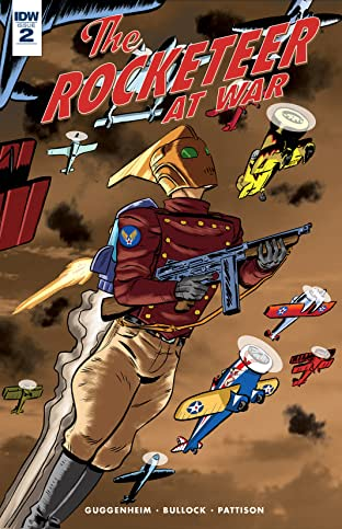 The Rocketeer At War! #2 (of 4)