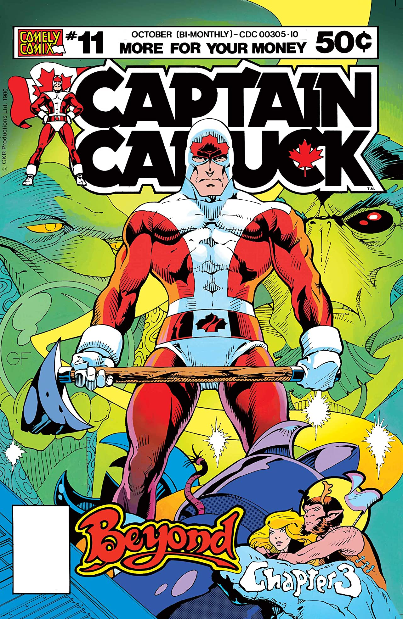 Captain Canuck - Original Series (1975-1981) #11
