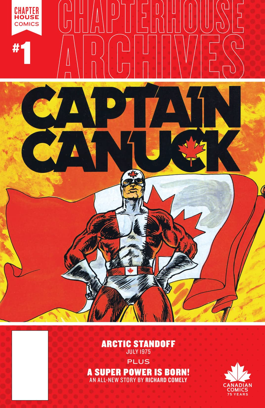 Chapterhouse Archives: Captain Canuck #1