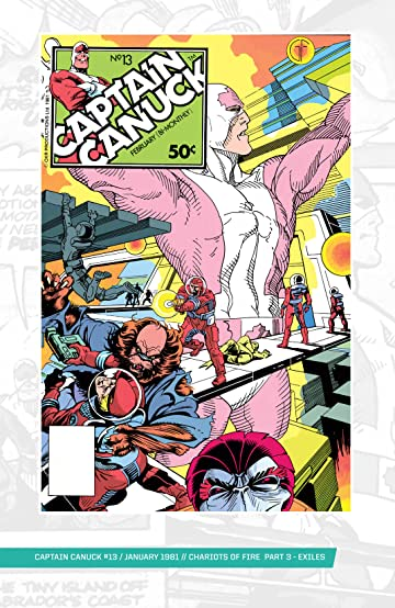 Captain Canuck - Original Series (1975-1981) #13
